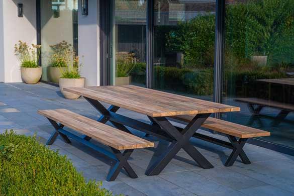 NAUTICA – Table de repas et bancs